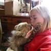 Она спасла котенка гепарда от охотников за трофеями