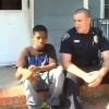 Добрый полицейский помог подростку