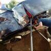 В Стерлитамаке ВАЗ-2113 напоролся на дорожное ограждение