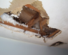 Как восстановить отделку потолка после потопа