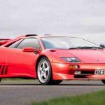 Мощная роскошь: эксклюзивный суперкар Lamborghini Diablо продается с аукциона