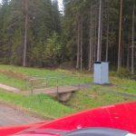 На трассе в Череповецком районе установили туалеты, которыми нельзя пользоваться