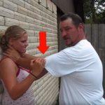 Вот что надо делать, если вас прижали к стенке и хотят задушить!