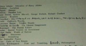 Список Бродского
