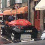 Странные автомобили на дорогах