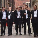 Окончание сдачи экзаменов в Кембриджском университете