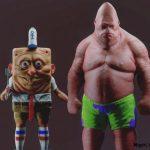 Спанч Боб и Патрик в 3D