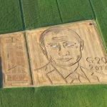 Итальянский фермер нарисовал портрет Путина на своем поле