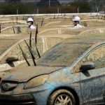 Компания Honda утилизирует новые автомобили