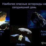 Астероид неотвратимо несется к Земле