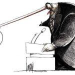 19 ироничных карикатур о современном мире, которые заставляют задуматься