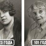 Как люди, которым сейчас больше ста лет, выглядели в молодости