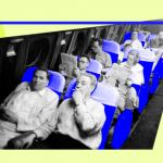 Почему кресла в самолете почти всегда синего цвета?